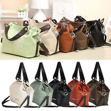 UK Womens Designer Handbag Leather Shoulder Messenger Tote Ladies School Bag New