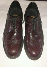 Mens Vintage Stuart McGuire Spring Step Cushion Wingtips Oxfords Shoes Size 8.5