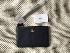 BRAND NEW COACH NAVY / MIDNIGHT BLUE WRISTLET BAG