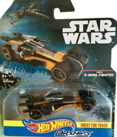 Hot Wheels 1:64 Scale Star Wars Poe's X-Wing Fighter Carship