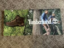 """Timberland Hiking Boots Retail Display Banner/Poster (48"""" X 22"""")"""