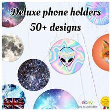 Pop Out Socket Mobile Phone Holder Universal Selfie Finger Grip Stand UK Seller