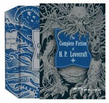 Knickerbocker Classics Ser.: The Complete Fiction of H. P. Lovecraft by Howard Phillips Lovecraft (2014, Hardcover)
