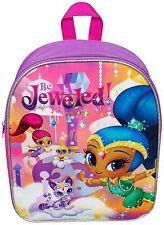 Gorgeous Girls Toddler Shimmer & Shine nick jr. Pink Nursery School Backpack Bag