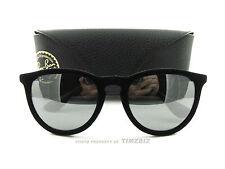 New Ray-Ban Sunglasses RB 4171 Erika Velvet Black 6075/6G Authentic