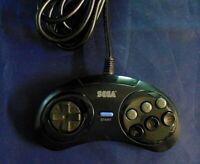 Sega Genesis Controller MK-1937 6 Button Rare Original Authentic Sega Club