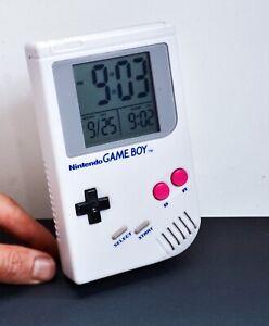Nintendo GAMEBOY Alarm Clock - Retro Digital Clock by Paladone. Working