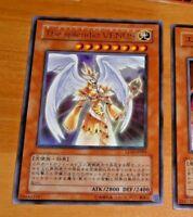 YU-GI-OH JAPANESE ULTRA RARE HOLO CARD LE10-JP005 Splendid Venus TCG JAPAN NM