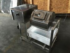 Meat Poultry Tumbler Marinator Mixer Machine S/S with Bloating
