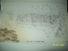 1966 Ford Galaxie Full Size inc. wagons Wiring Diagram all options! 11x17 30 pgs