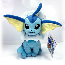 Pokemon Tomy Vaporeon XY Eevee Plush Stuffed Animal Toy NWT + Free Card!