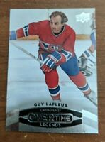 Upper Deck Overtime Legends Guy Lafleur Canadiens 50 (2015-16)