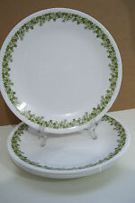 "Set of 4 Corelle Crazy Daisy Spring Blossom 8 1/4"" Lunch Plates By Corning Ware"