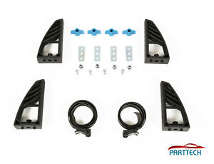 X4 Universal Adjustable Load Stops +T bolts + 2 straps New