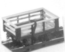 Parkside Dundas DM24 Festiniog 2 Ton Steel Sided Slate Wagon 009 Plastic Kit