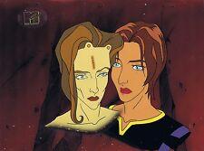 AEON FLUX Original Production Cel Cell Animation Art COA MTV Liquid Television