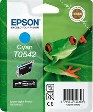 Original Epson T0542 Cyan Frog Stylus Photo R800 R1800 Original Packaging