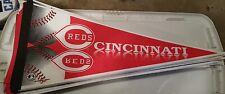 Cincinnati Reds pennant MLB still w/ tags NEW RARE!!! original from 90's Cincy