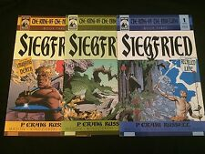 RING OF THE NIBELUNG: SIEGFRIED #1, 2, 3 VFNM Condition