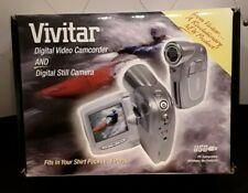 New Open Box Vivitar Digital Video Camcorder & Still Camera IOB