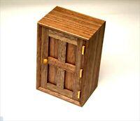 Karakuri Gimmick Japanese Puzzle Box Door Hakone Parquet Yosegi Wooden 5x3x2inch