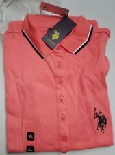 U.S. POLO ASSN. COTTON  SHIRT DRESS IN 4 COLOR  Sizes S to XXL