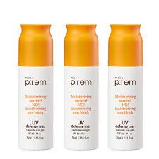 (3EA) x [MAKE P:REM] make prem UV defense me. Capsule sun gel 75ml Made in Korea