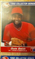 1992 Post Collectors Series Card Ozzie Smith #8, St. Louis Cardinals