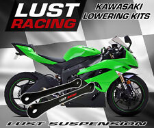 Kawasaki ZX6R ZX636C Lowering Kit 2005-2006 Links Linkage Dogbones LUST RACING