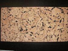 Natural Cork Decorative Wall Tile - Black Background