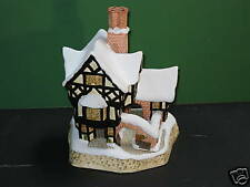 David Winter Cottages Mr. Fezziwig's Emporium Mib Coa