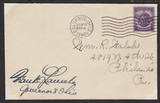 Frank Lausche, OH Governor 1945-47; 49-57, signed Cover