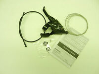 New shimano st-e51  3 speed black shifter with brake lever cable and housing
