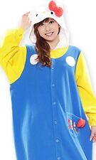 New! Hello Kitty 70s Kitty Sanrio Pajamas Cosplay Kigurumi Japan F/S