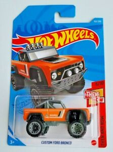 Hot Wheels Custom Ford Bronco Orange #163 163/250 2021 Then and Now 6/10