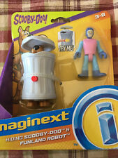 VHTF 2018 Imaginext Hiding Scooby Doo & Funland Robot Trash Can Toddler Toy NEW