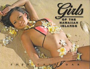 2022 Hawaiian Calendar - Girls of the Hawaiian Islands  12 month Hawaii Calendar
