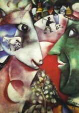 Tela Canvas Chagall Cod 10 cm 70x100  Stampa Printing Graphics Art papiarte