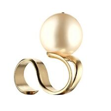 CHANEL 2014 Oversized Pearl Ring GRIPOIX  Unworn in Box!