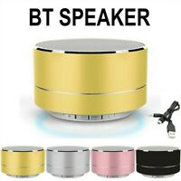 Led Wirelwss Mnin Bass BT Portable Speakers For iPHONE For iPAD Phones MP3 FT AU