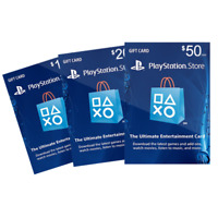 $10 PSN Digital Card - Playstation Network $10 USD PS4 PS3 - US Gift Card [US]