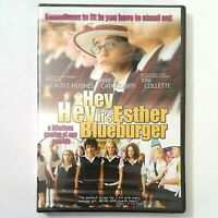 HEY, HEY IT'S ESTHER BLUEBURGER (DVD, 2010) Keisha Castle-Hughes SEALED