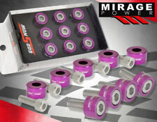 M8X1.25 9PCS S2K FD2 DC5 JDM PURPLE ALUMINUM ENGINE HEADER WASHER SPACER + BOLTS