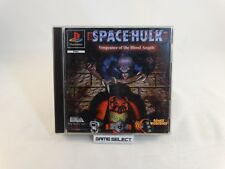 SPACE HULK VENGEANCE OF THE BLOOD ANGELS PLAYSTATION 1 PS1 PS2 PS3 PAL COMPLETO