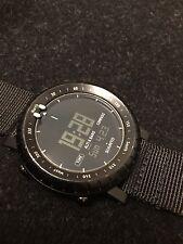Suunto Core Regular  Black SS014809000 Wrist Watch for Men with Zulu Strap