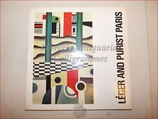 ARTE - Catalogo Illustrato LEGER and PURIST PARIS 1970-1971 Tate Gallery