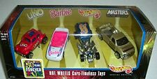 Hot Wheels Cars Timeless Toys 50 Years Forever Fun Set UNO Barbie Masters!