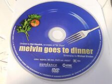 Melvin Goes to Dinner (DVD, 2003)Disc Only Free Shipping