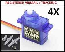 4X HXT900 9g 1.6kg  0.12sec Micro Servo for rc plane heli aircrafts