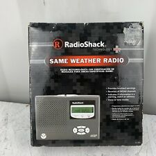 RadioShack 12-382 NOAA Portable Weather Radio Public Alert System